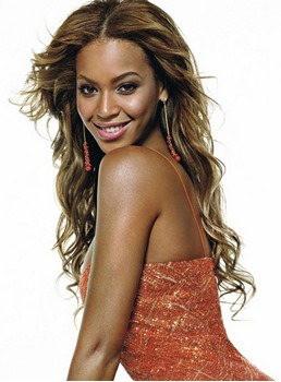 Fabulous Amazing Custom Beyonce Hairstyle Long Body Wavy Synthetic Hair Lace Front Wig 24 Inches