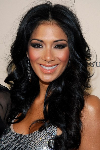 Nicole Scherzinger Long Wave Lace Front 100 Human Hair 1