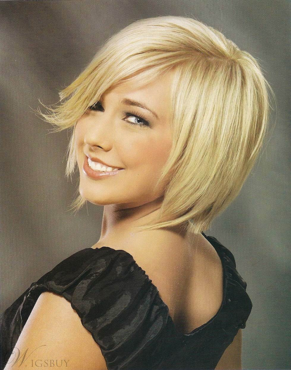 Sweet Top Quality New Arrival Straight Bob Blonde Front Lace Wig 8 Inches