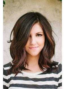 Latest Most Attractive Wavy 14 Inches Human Remy Hair Lace Wig