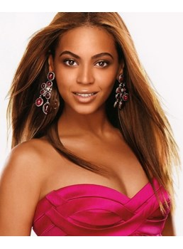 Beyonce Long Straight Lace Front Wig 100% Human Hair 18 Inches
