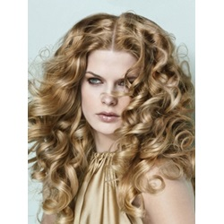 150% DensityLong Curly Heat-Resistant Synthetic Lace Wigs 20 Inches