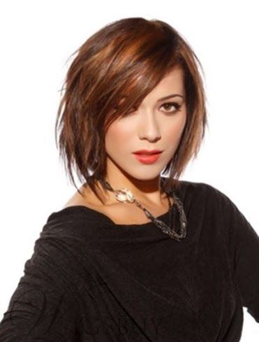 High Quality Trendy Carefree Short Straight Brown Bob 100% Human Hair Front Lace Wig 10 Inches