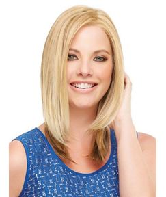 Graceful Medium Straight Lace Front Wig 100% Human Hair 12 Inches
