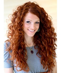 Amazing Curly 100 Human Hair Lace Front Wig 150 Density 24 inches