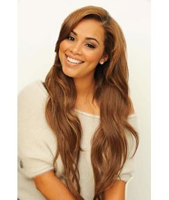Extra Long Loose Wavy 100% Remy Human Hair Lace Front Wigs 26 Inches