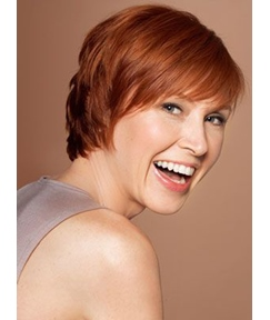 Cheap New Arrival Short Layered Straight 100% Remy Human Hair Wigs