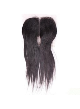 Lace Top Closure Free Part & Middle Part Brazilian Virgin Hair Straight Textures Swiss Lace Hair Products