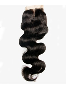 Free Part & Middle Part Brazilian Virgin Hair Loose Wave Textures Swiss Lace Top Closure