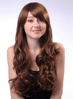 Cheap Long Wavy #8/#27 Synthetic Hair Wig 26 Inches