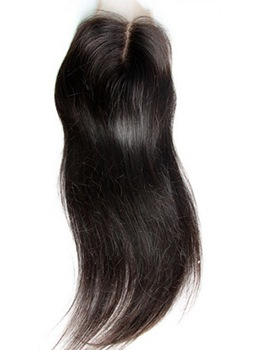 New Straight Unprocessed Human Hair Lace Closures 5*5
