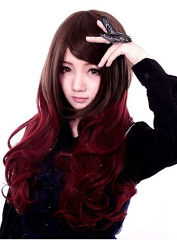 Cosplay Wig Inspired by Long Harajuku Style