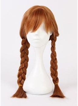 Sweet Cosplay Long Dual Horsetail Synthetic Hair Hair 24 Inches