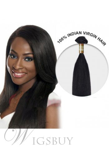 12 Inches Straight India Virgin Hair Weft