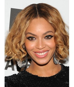 Beyonce New Arrival Stylish Short 100% Remi Hair Full Lace Wigs