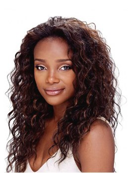 Hot Sale Long Body Curl Hairstyle Density 150% Remy Hair Lace Front Wig 22 Inches
