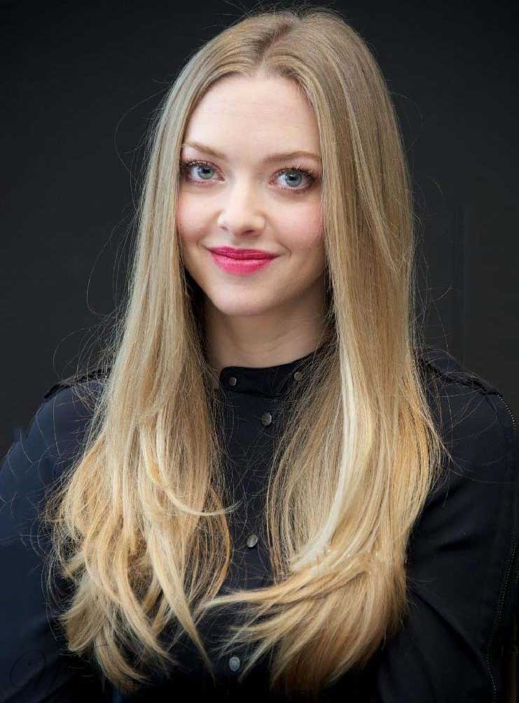 Amanda Seyfried Long Straight Human Hair Lace Front Wigs 20 Inches Wigsbuy Com