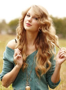 Long Deep Wave Taylor Swift Lace Front Human Hair Wigs 18 Inches