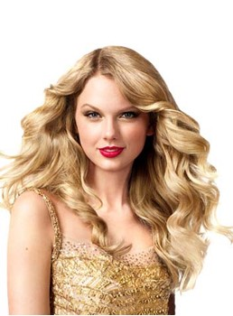 Glamorous Long Deep Wave Blonde Taylor Swift Hairstyle Lace Front Human Hair Wig 20 Inches