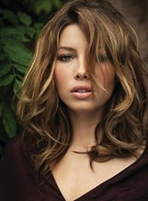 New Arrival Sexy Long Layered Loose Wave Lace Front Human Hair Wig 14 Inches