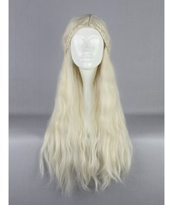 Daenerys Targaryen Hairstyle Long Curly Cosplay Wig 28 Inches