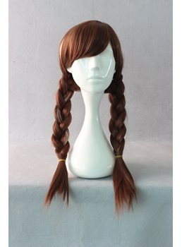 Princess Anna Braided Hairstyle Cosplay Wig 22 Inches