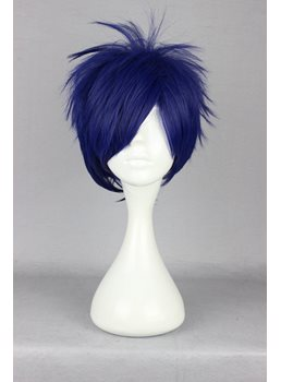Japanese Free! Series Ryugazaki Rei Cosplay Wigs 12 Inches