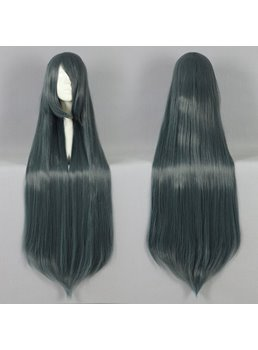 Versatile Long Straight Mixed Color Cosplay Wig 30 Inches