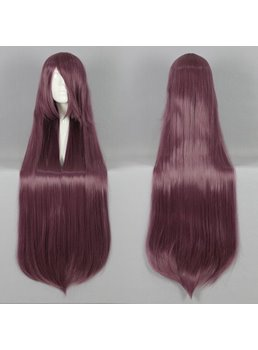 Versatile Long Straight Synthetic Cosplay Wig 30 Inches
