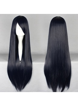 New Arrival Long Straight Navy Coaplay Wig 30 Inches