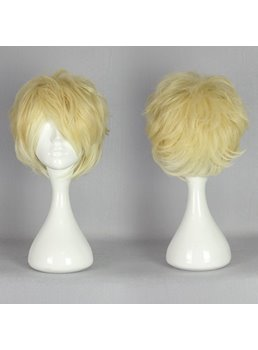 Diabolik Lovers Light Blonde with White Ombre Synthetic Hair Cosplay Wig