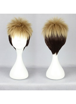 Japanese Shingeki no Kyojin Series Jean Kirstein Cosplay Wigs 12 Inches