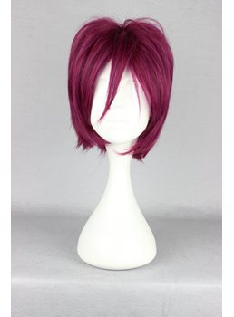 Japanese Free! Series Rin Matsuoka Cosplay Wigs 12 Inches