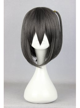 Japanese Cute Short Straight Synthetic Cosplay Wigs 14 Inches