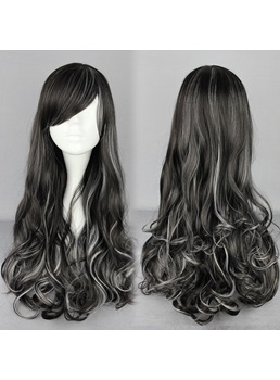 Japanese Lolita Style Mixed Color 120% DensityCosplay Wigs 28 Inches