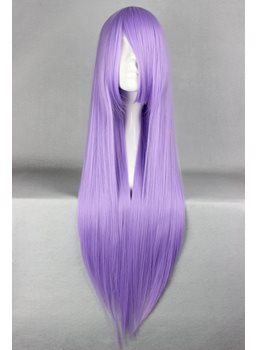 Athena Hairstyle Long Straight Light Purple Cosplay Wig 30 Inches