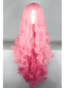 Japanese Fashionable Long Wave Cosplay Wigs32 Inches