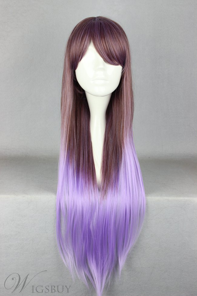 Japanese Lolita Style Gradient Color Grey And Purple