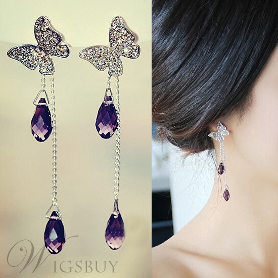 drop beautiful crystal boutique earrings happiness en