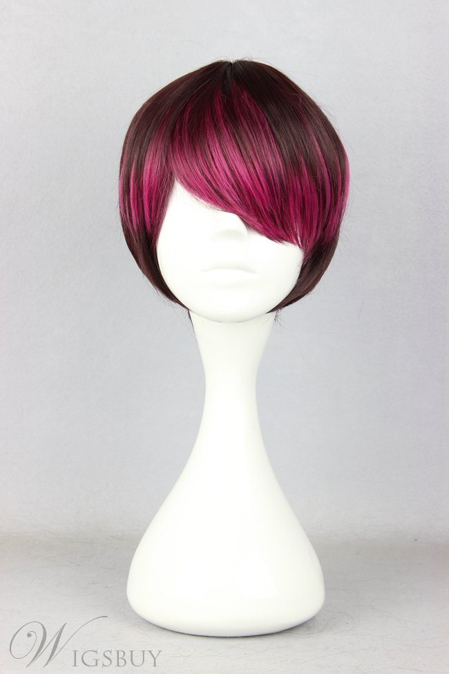 Japanese Lolita Style Gradient Color Cosplay Wigs 12