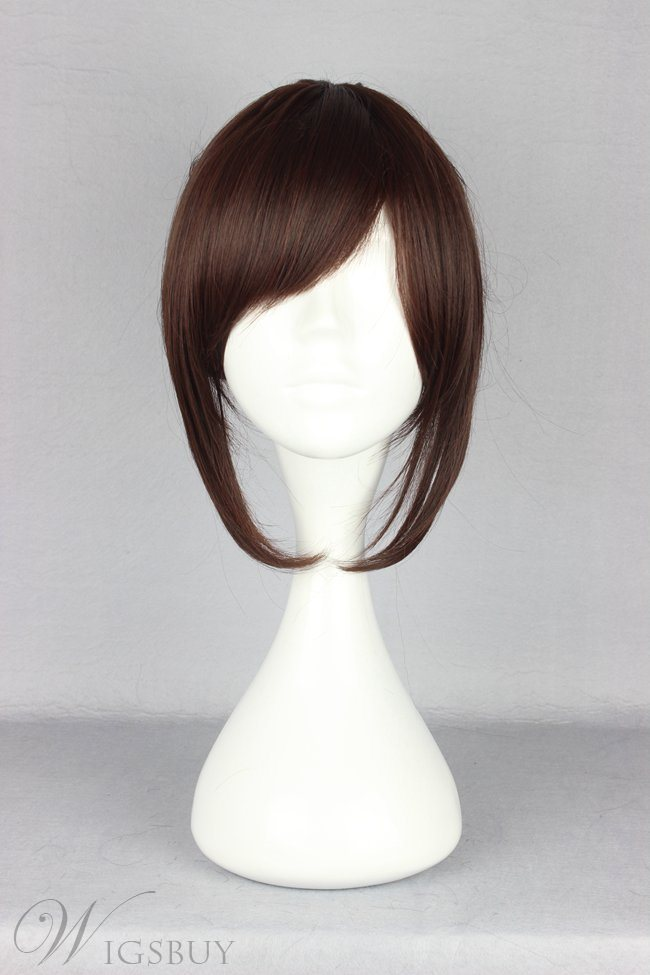 Japanese Shingeki no Kyojin Series Sasha Style Short Straight Cosplay Wigs 14 Inches
