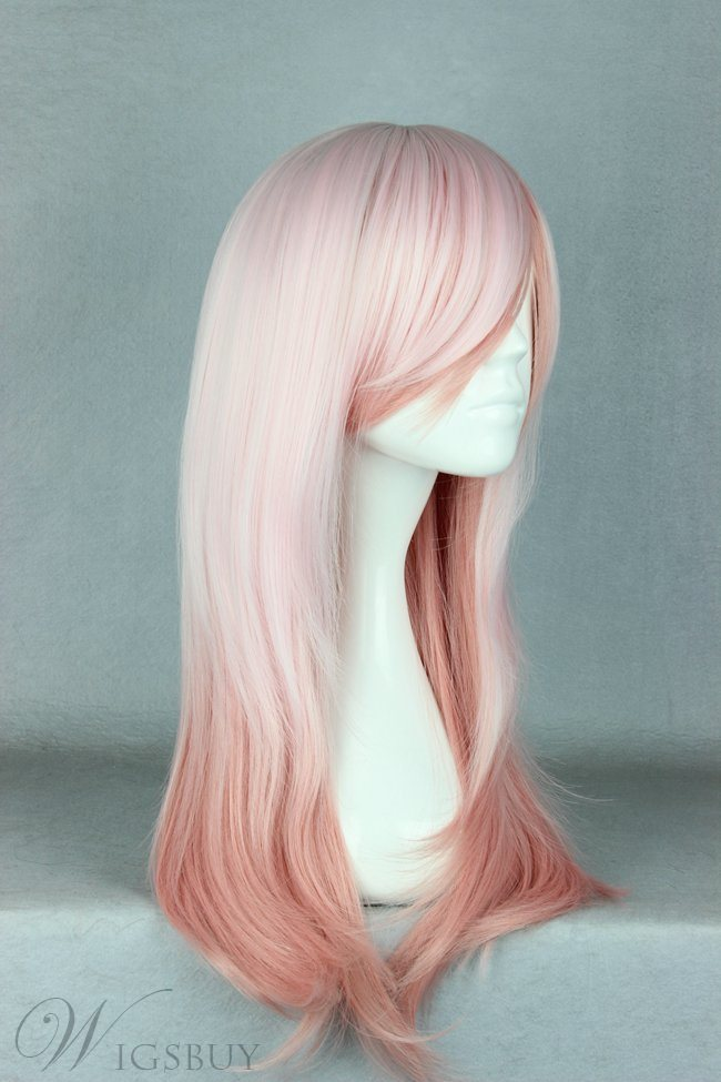 Japanese Lolita Style Gradient Color Cosplay Wigs 24