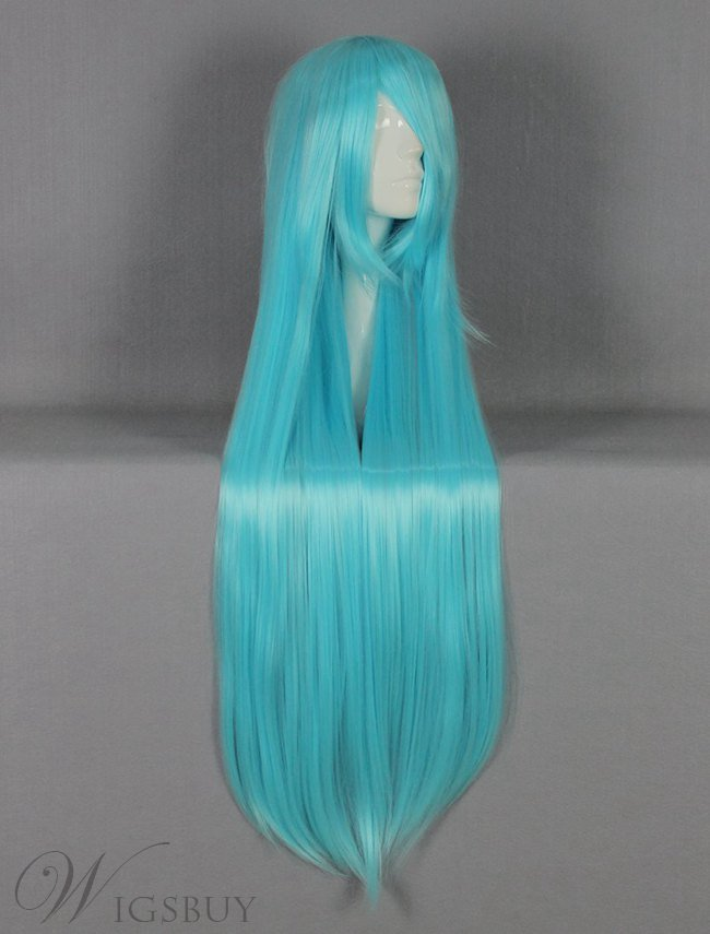 Long Straight Versatile Cosplay Wig 30 Inches