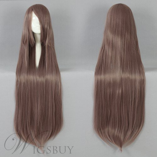 Long Straight Synthetic Cosplay Wig 30 Inches