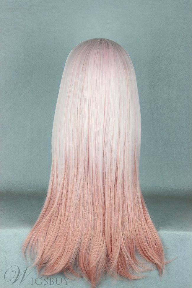 Japanese Lolita Style Gradient Color Cosplay Wigs 24 Inches