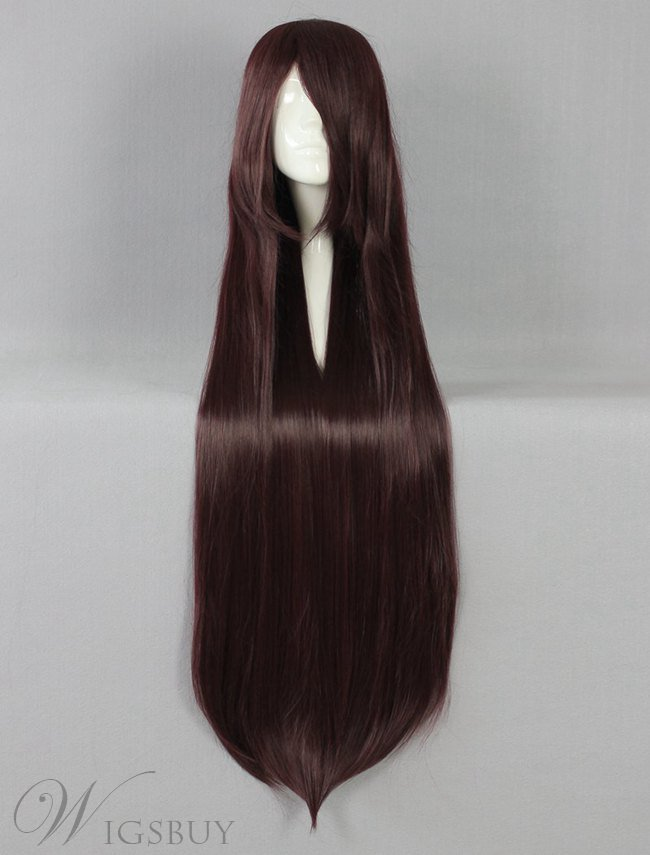 Graceful Long Straight Versatile Cosplay Wig 30 Inches