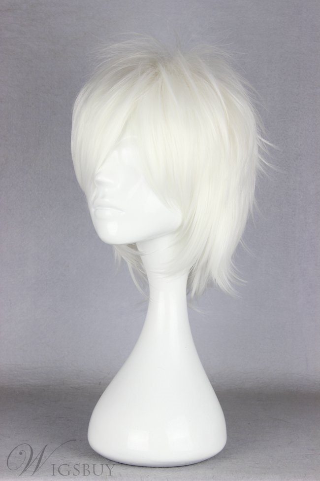 New Arrival Short Layered Synthetic Cosplay Wigs 14 Inches