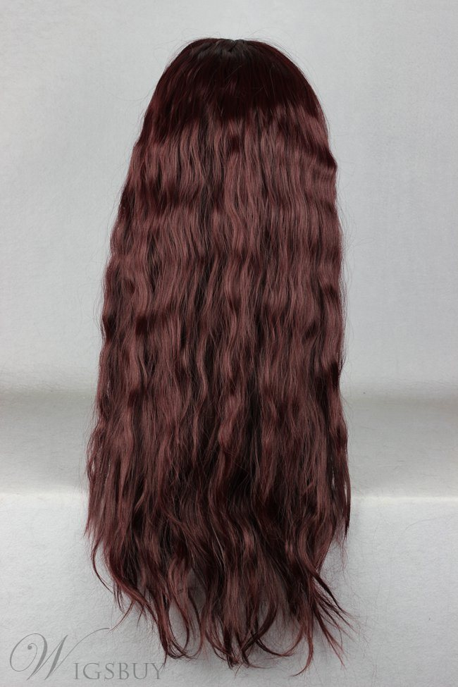 Japanese Lolita Style Long Wave Chocolate Cosplay Wigs 28