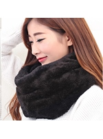 Pure Color Women's Warm Scarf