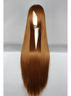 Loveless Hairstyle Long Straight Light Brown Cosplay Wig 30 Inches